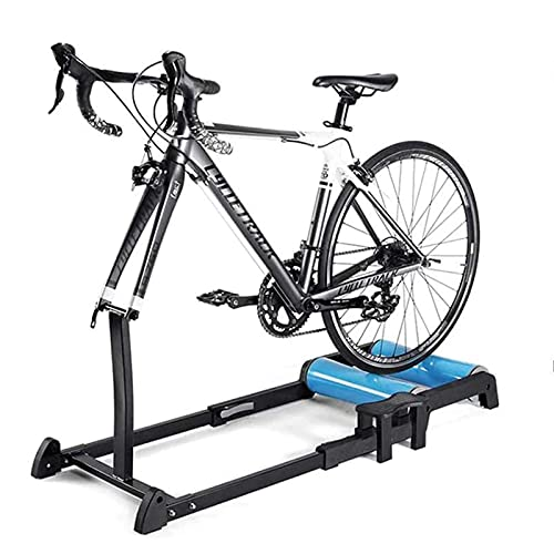 YZX Plataforma Entrenamiento Bicicleta, Entrenador Turbo de Bicicleta de Carretera de montaña Plegable para Interiores, Soporte de Entrenador de Fitness Eexercise para Montar en Bicicleta