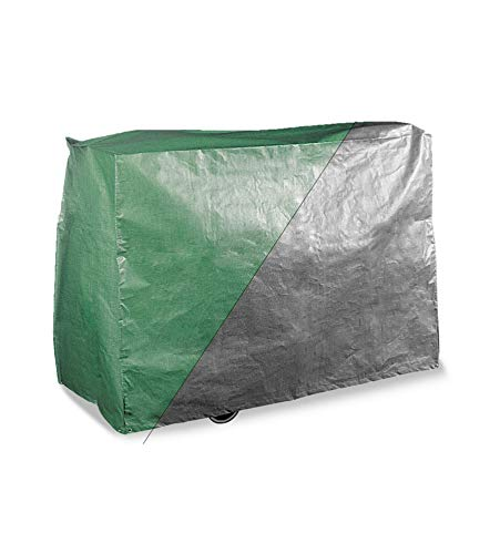 Bosmere Products Ltd P515 Protection d'écran Plus Barbecue Wagon Housse réversible – Vert/Noir