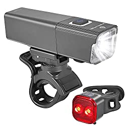 IKirliten urban 600 lumens bright lights provide high intensity and brightness levels with variously adjustable multi-modes