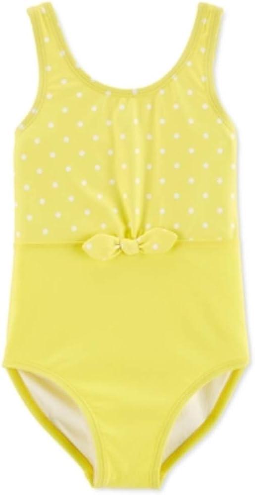 Carter's Girls Swimsuit (Polka Dot, 4)