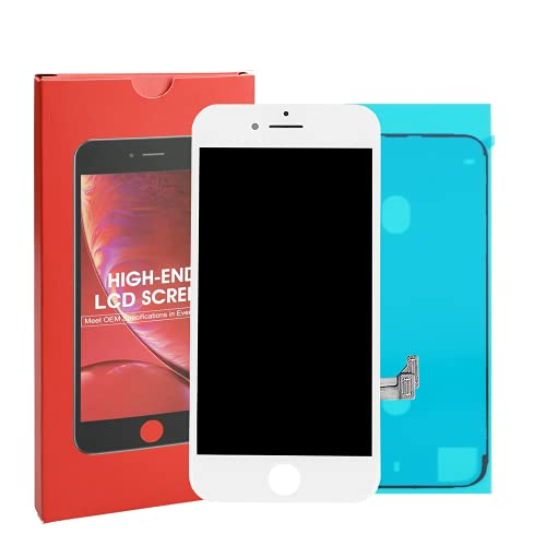 Compatible con iPhone 7 Screen - Blanco - ITruColor LCD Screen High-End Series