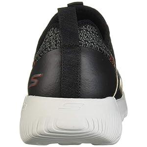 Skechers Men's GO Run Focus-Raptor Sneaker, Black/Red, 13 M US