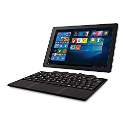 "Image of RCA Cambio 10.1"" 2 in 1 32GB Tablet with Windows 10, Intel Atom Z8350 2GB RAM, Includes Keyboard (Renewed): Bestviewsreviews"