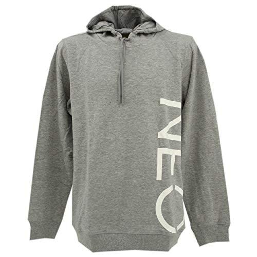 adidas, Neo L HDY, Herren Herren Hoodie Sweatshirt Kapuzensweater Sweaterstrick Grau Meliert L [22541]
