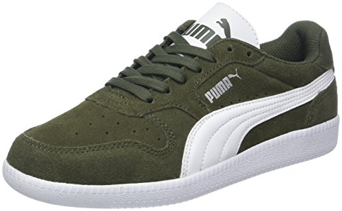 Puma Icra Trainer SD Zapatillas, Unisex adulto, Verde (Forest Night-Puma White),...