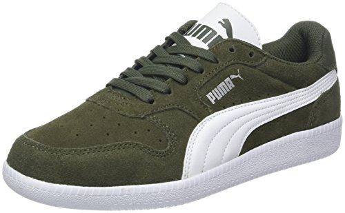 Puma Unisex-Erwachsene Icra Trainer SD Sneakers, Grün (Forest Night-Puma White), 43 EU