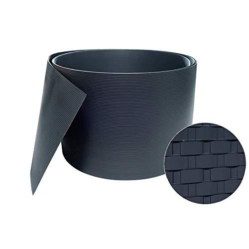 Paño De Valla Impermeable con Protector Solar Tira De 19 Cm De Película De PVC for Vallas Pantalla De Privacidad De Valla De Jardín Cerca Ultravioleta De La Red De La Sombra del Balcón del Jardín