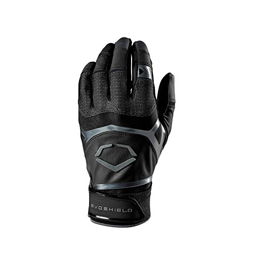 EvoShield Youth XGT Batting Gloves, Black - Small