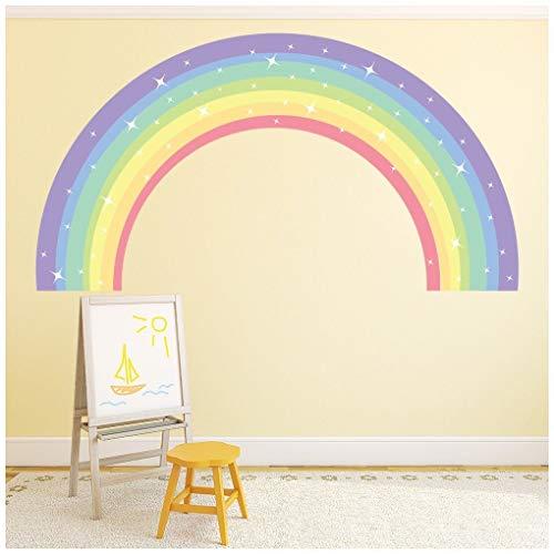 azutura Funkeln Regenbogen Wandtattoo in 8 Größen erhältlich Digital