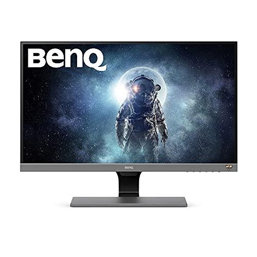 BenQ EW277HDR 27 Inch FHD 1080p HDR Video Enjoyment Monitor Eye-Care 93 Percent DCI-P3 B.I. Plus Sensor - Black