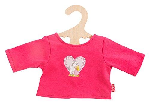 Heless 1955Heless T-shirt met kleurrijke print voor kleine pop