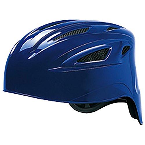 ミズノ(MIZUNO) ソフトボール用ヘルメット(捕手用) 1DJHC301 16 パステルネイビー O