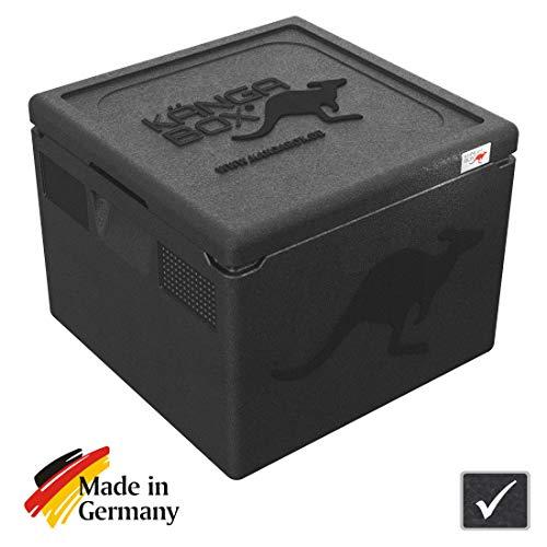 KÄNGABOX®Easy – Die quadratisch praktische Thermobox. 32 Liter EPP Isolierbox