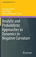 Analytic and Probabilistic Approaches to Dynamics in Negative Curvature (Springer INdAM Series (9))