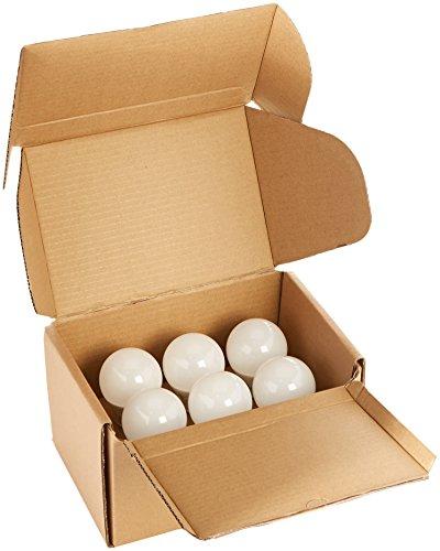 AmazonBasics 60 Watt Equivalent, Soft White, Non-Dimmable, A19 LED Light Bulb   6-Pack