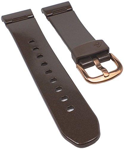 Correa de Repuesto para Reloj de Pulsera de Mujer Casio Baby-G de Resina marrón BGA-104G