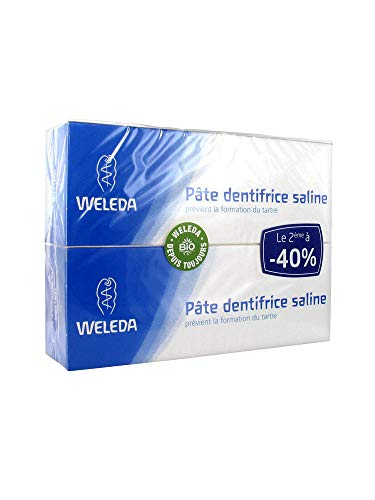 WELEDA - Weleda-Duo paste Saline 2 x 75ml Zahnpasta