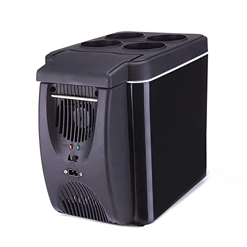 HZYGL 6L Mini refrigerador del Coche, Coche de refrigerador del compresor, la Cerveza Bebidas Nevera pequeña, Mini Refrigerador portátil, para Autos Casas Oficinas