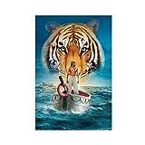 Berühmte Filmkunst-Poster Life of Pi 5, Leinwand-Poster,