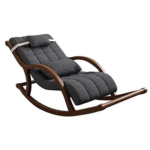 SWNN gaming chair Compra de la sala del sillón mecedora Chaise silla de relajación Silla Silla Y Sun Tanning reclinable Chaise Lounge Acolchonadas sala de juego for el hogar Silla perezosa del sofá ju