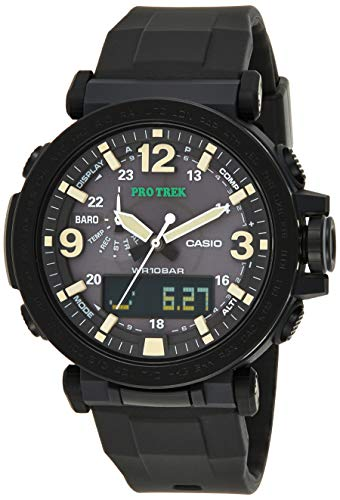 Casio Protrek Triple Sensor Analog-Digital Black Dial Men's Watch PRG-600Y-1DR(SL93)