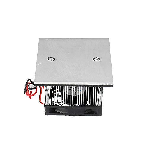 Electronic Accessories & Supplies XD-6098 12V 36W chip de refrigeración de semiconductor electrónico de baja potencia módulo de refrigeración de placa fría de enfriamiento rápido