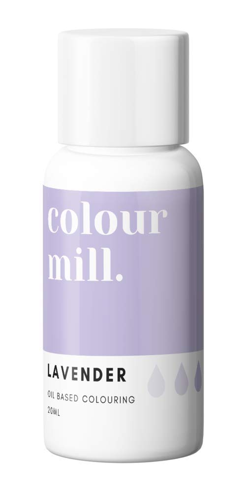Colour Mill Oil-Based Food Coloring, 20 Milliliters Lavender