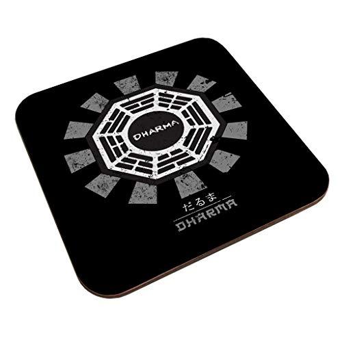 Dharma Initiative Lost Retro Japanese Coaster