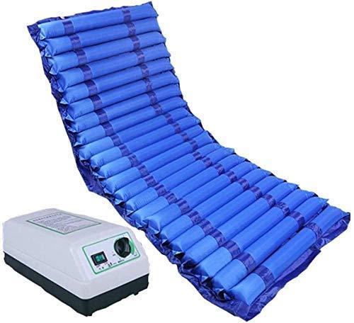 Möbeldekoration Expansionskontroll-Matratzenauflage mit Pumpe Anti-Dekubitus-Luftmatratze Wechseldruck-Matratzenauflage für Einzelbetten - Luftdruckmatratze - Aufblasbare Bettauflage hilft bei der
