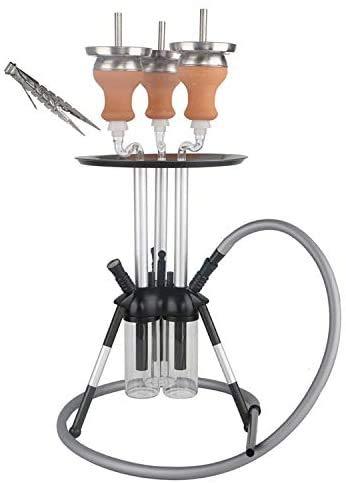 Special Shisha Wasserpfeife mit drei Rahmen (geeignet für eine Person) Hookah 0423