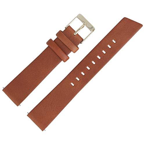 Liebeskind Berlin Uhrenarmband 18mm Leder Braun Glatt - 0233