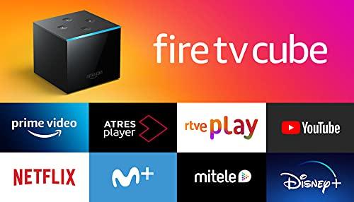 Presentamos Fire TV Cube | Reproductor multimedia en streaming con control por voz a través de Alexa y Ultra HD 4K