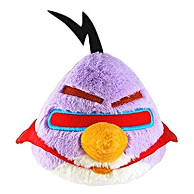 """Toynk Angry Birds 5"""" Purple Space Bird Plush Officially Licensed"""