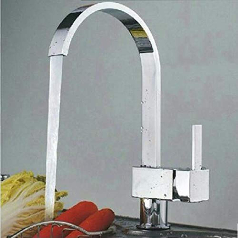 XPYFaucet Wasserhahn Armatur Mischbatterie Becken-Küche mit 360 Grad-Umdrehung für warmes und kaltes Wasser
