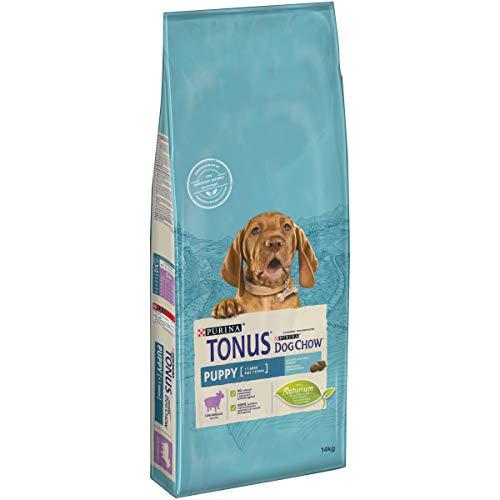 Purina Tonus Dog Chow Puppy Cane Crocchette con Agnello, 14 kg