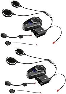 SENA(セナ) 10S デュアルパック バイク用インカム Bluetooth インターコム 10S-01D 日本語音声設定済み [並行輸入品]