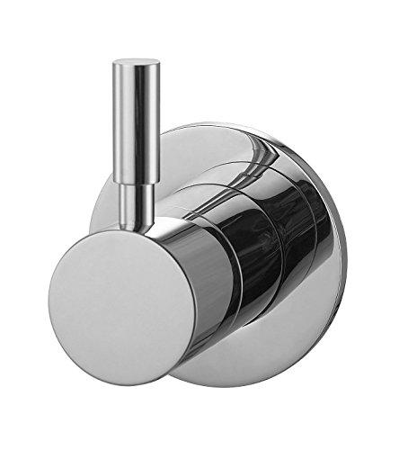 Aqua Bagno - Rubinetteria per WC da incasso, rubinetteria da design Taharet, 1/2', incluso corpo di base in ottone. Rubinetto da incasso per bidet, rubinetteria per bidet