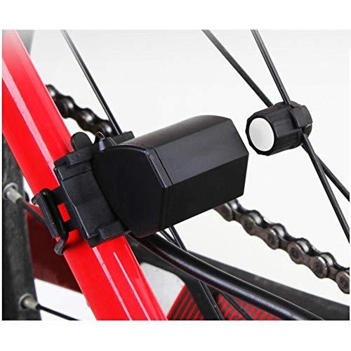 CYSHAKE Fahrradrücklicht Elektromagnetische Induktion wasserdichte, ultrahelle Fahrradbeleuchtung Fahrradausrüstung Lampe Passt auf alle Rennräder