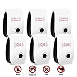 Ultrasonic Pest Repeller, Upgraded Indoor Plug in Electronic Pest Repellent - Pest Control for Bug Mosquito Mouse Squirrel Bee Cockroach Fly Spider Rat - Safe for Children and Pet