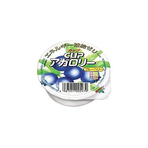 カップアガロリー ブルーベリー味 83g×24個セット 【栄養補給ゼリー】 キッセイ薬品 _051005979