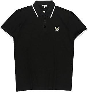 [ケンゾー] メンズ ポロシャツ カジュアル BLACK/WHITE POLO T-SHIRT F952TS759016 【並行輸入品】...