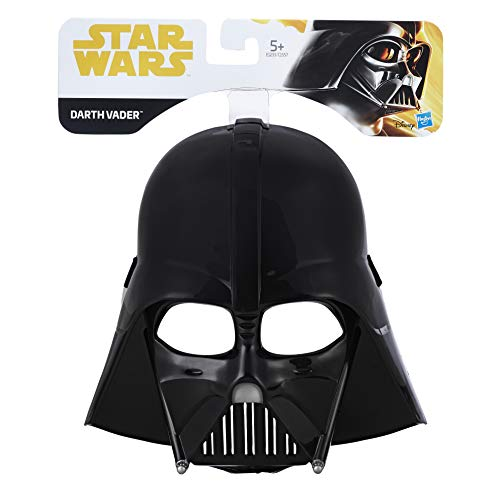 Hasbro-E1233ES0 Star Wars Máscara Darth Vader, Multicolor (E1233ES0)