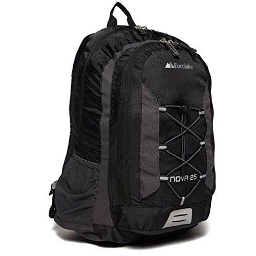 Eurohike Nova 25L Daysack, Black, One Size