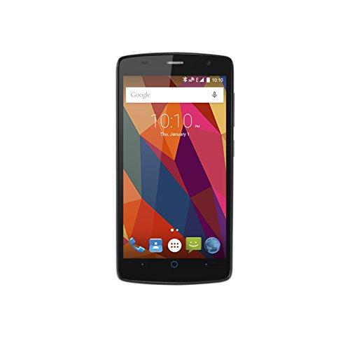 ZTE Blade L5 Dual Sim Smartphone, Display 5 HD IPS (1280x720), Processore Quad Core 1.3 Ghz, 8GB Memoria interna, Android 5.0 Lollipop, Grigio