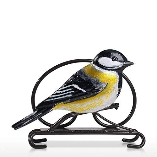 QZH Dispensador de Papel para pájaros, Hoja de Metal, Estuche de Papel,...
