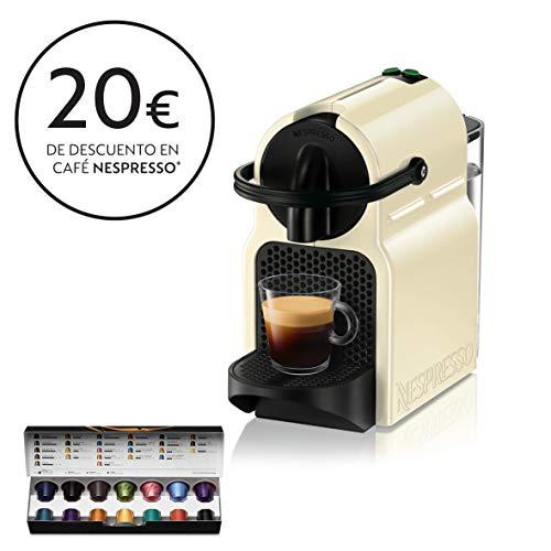 Nespresso De'Longhi Inissia EN80.CW - Cafetera monodosis de...