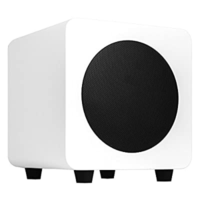 Kanto 200W 6 Inch Powered Subwoofer - Matte White (SUB6MW) by Kanto Living Europe