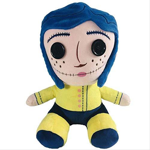 qwermz Plüschtiere - 25cm Coraline Phunny Kuscheltiere Puppe Geburtstag Chirldren Geschenke