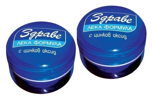 Zdrave - Crema para la piel (2 unidades, fórmula ligera con óxido de zinc, protege, hidrata, ayuda a la curación de la piel (erupciones, irritación, inflamación), 60 ml (2 x 30 ml)