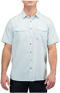 5.11 战术男士人字呢短袖衬衫,布莱兹人字呢,中号